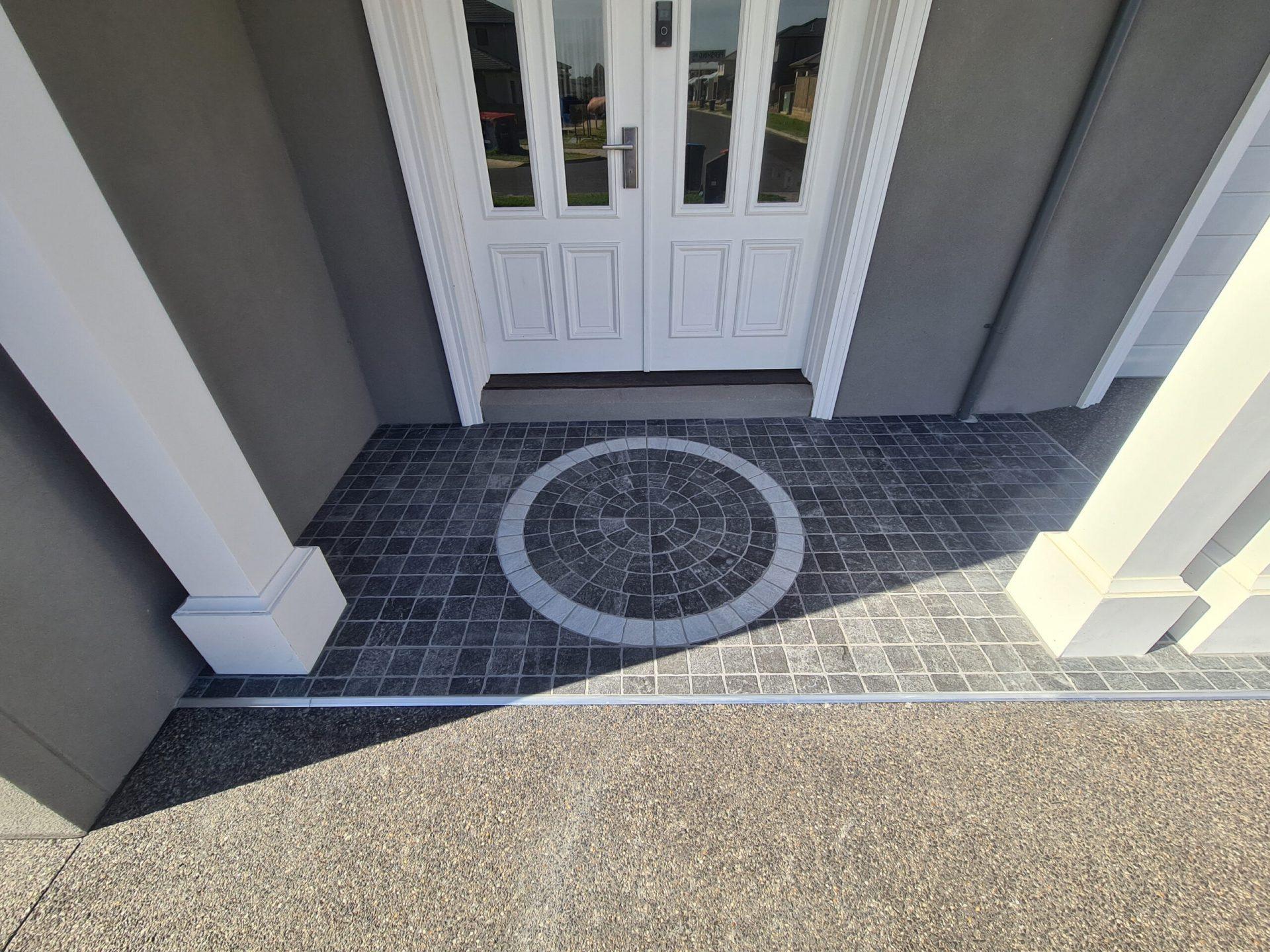 Front Porch tiling